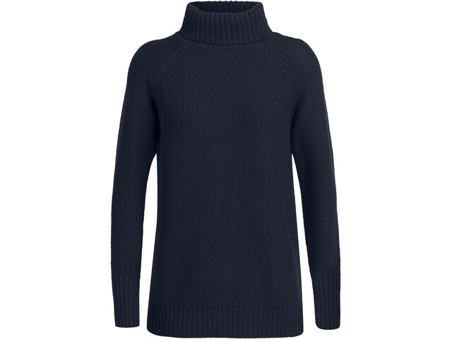 Icebreaker Waypoint Rollkragen Sweater Damen midnight navy